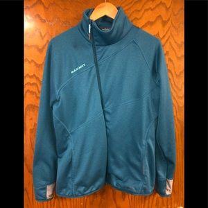 NWOT Mammut Women's Sz XL Fleece Jacket; Sapphire
